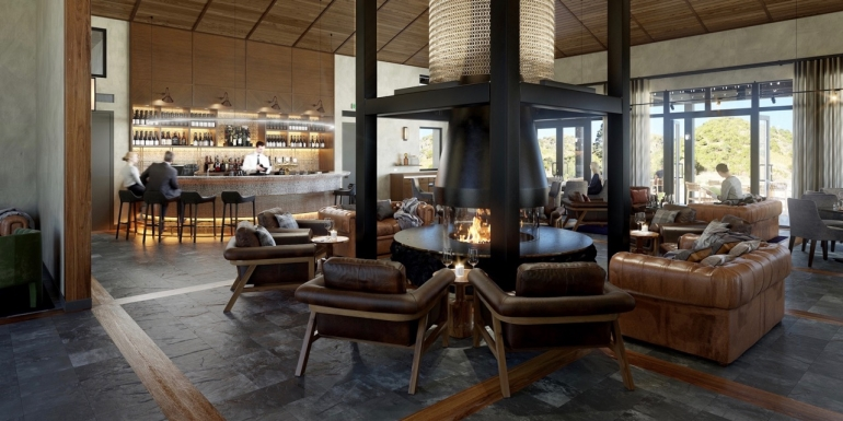 Artist's impression Gibbston Valley Lodge and Spa
