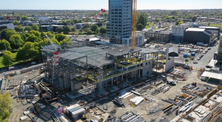 Te Pae construction completes first year