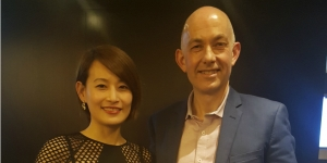 Judy Chen and Steve Martin, James Cook Hotel Grand Chancellor general manager