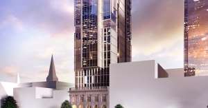 Artist's impression of the new-build Hotel Indigo