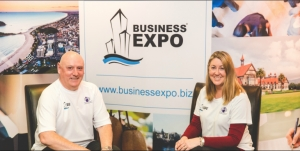 Bay of Plenty & Waikato Business Expo organisers Barry Brown & Sharon Giblett