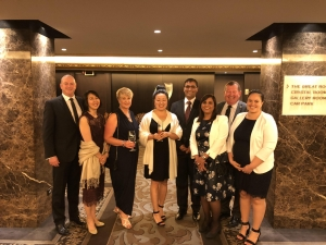 Sudima Hotels & Resorts had three winners on the night - Les Morgan, Leigh Higgins and Roma Patel, as well as taking out the award for Hotel Industry Environmental Initiative of the Year
