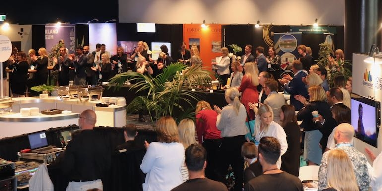 Be Reconnected business event held at Auckland's Aotea Centre