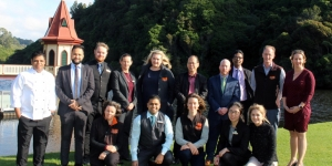 Members of both organisations pictured met at ZEALANDIA.