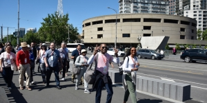 Pre-conference options included Melbourne City walking tours