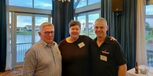 Geoff Mitchell, Scenic New Zealand; Kate Latimer, Peppers Clearwater Resort; Michael Oakley, Ballooning Canterbury