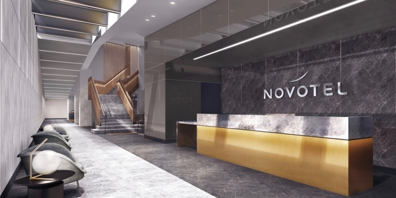 Golden touch at new Novotel
