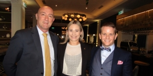 At the launch of the new high tea at Hotel Grand Windsor in Auckland… Ronnie Ronalde, groups operations manager CPG Hotels; Lisa Breckon, director of sales and marketing; Chris Dickinson, general manager, Hotel Grand Windsor