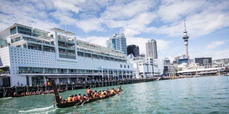 Auckland Harbour Waka Event
