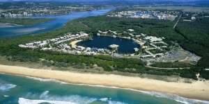 Development fits well with the natural landscapes in 'clean, green' Sunshine Coast