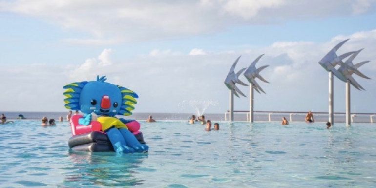 Cairns takes part in Comm games