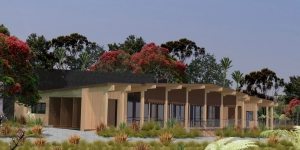 Waitangi Treaty Grounds - artist's impression of new museum and multipurpose space.